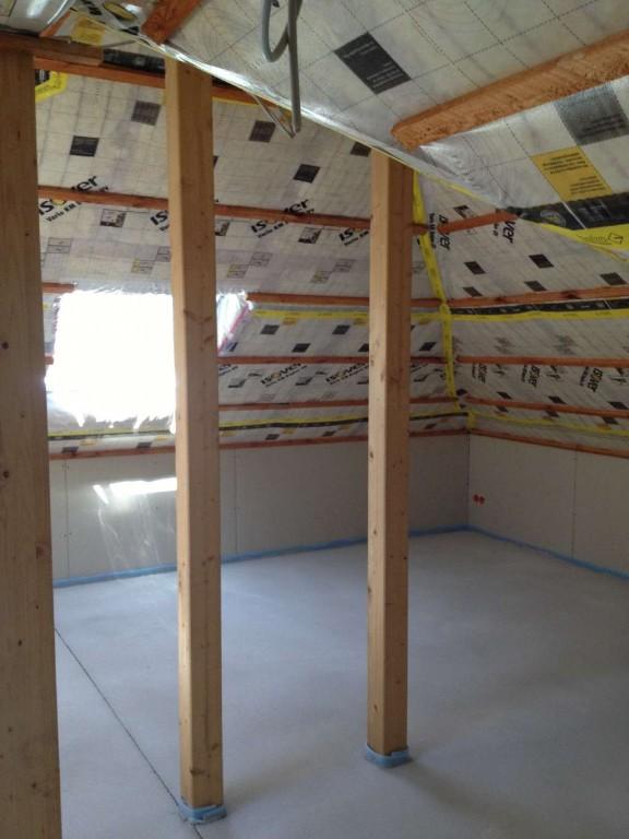 Zwischensparrendämmung im Dachgeschoß