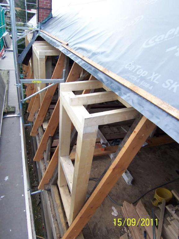 Einbau von Dachgauben